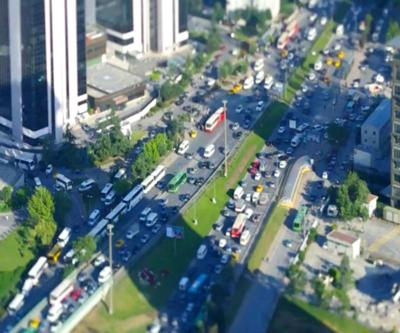 İstanbul'un bayram trafiği haritası çıktı