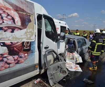 Tekirdağ'da kaza: Ölü ve yaralılar var