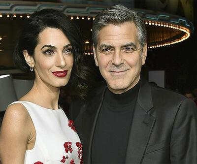Clooney'den 1 milyon dolar bağış