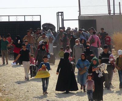 Suriyeli sığınmacılar bayram için ülkelerine gitti