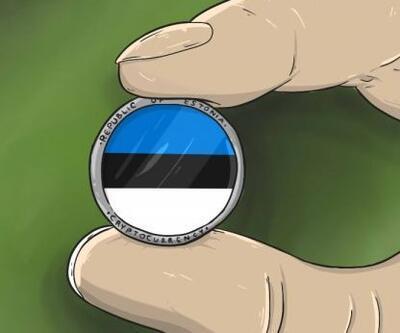 Dünyada bir ilk! Estonya kendi para birimini piyasaya sürecek