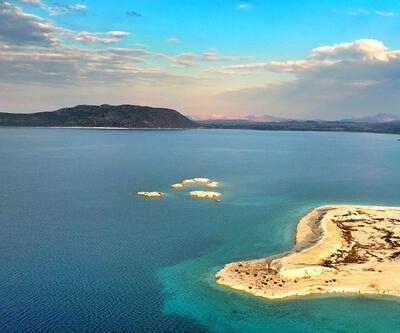 """""""Türkiye'nin Maldivleri"""" Salda Gölü turistlerin yeni gözdesi"""