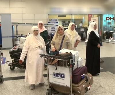 İlk hacı kafilesi Türkiye'ye döndü