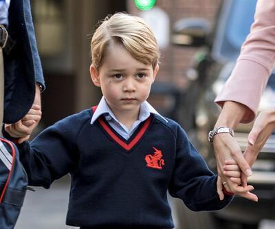 Küçük Prens George okula başladı! Hem de oldukça mütevazı bir ücret ödeyecekler