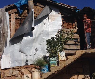 2 çocuklu ailenin yıkılmaya yüz tutan evde yaşam savaşı