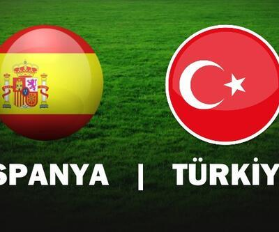 Türkiye İspanya maçı yayın bilgileri