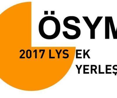 ÖSYM LYS ek tercih sonuçları açıklandı | Üniversite ek yerleştirme sonuç sayfası