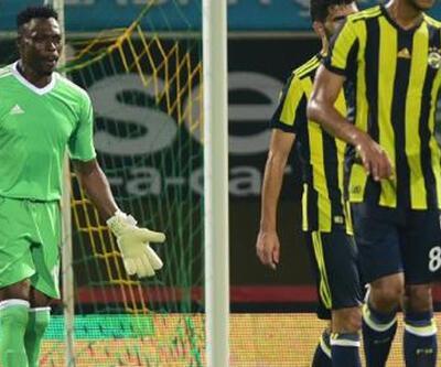 Fenerbahçeli Kameni logosuz forma ile oynadı