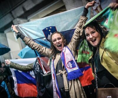 Slovenya'nın başkentinde sabaha kadar dans
