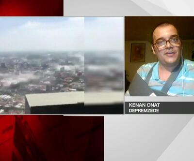 Meksika'da yaşayan Türk depremzede o anları anlattı
