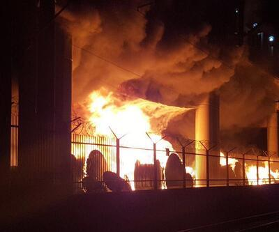 İzmir metrosunda yangın paniği