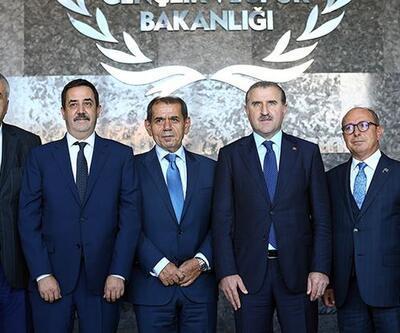 Kulüp Başkanları Bakan Bak'ı ziyaret etti