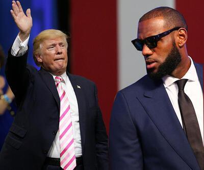 Lebron James, Donald Trump'a ağır konuştu