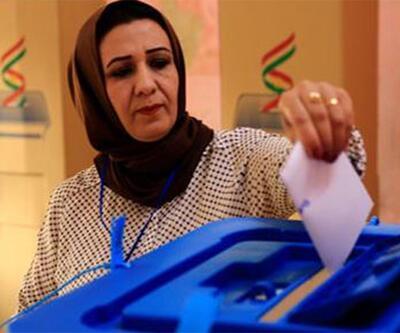 Barzani'nin bağımsızlık referandumu başladı