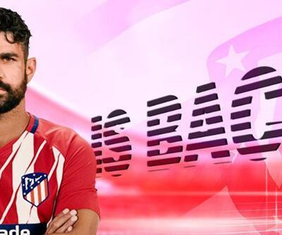 Son dakika: Diego Costa yeniden Atletico Madrid'de