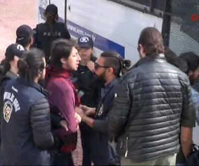 İstanbul Üniversitesi'nde öğrencilere polis müdahalesi