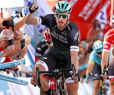 Sam Bennett Cumhurbaşkanlığı Türkiye Bisiklet Turu'nda hat trick yaptı