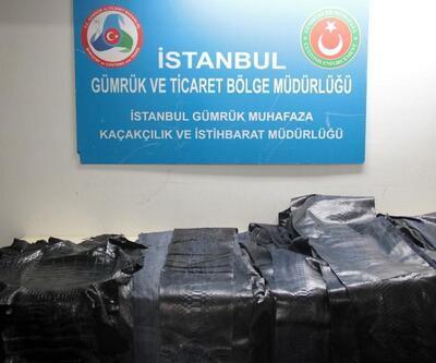 Atatürk Havalimanı'nda yılan ve timsah derisi operasyonu