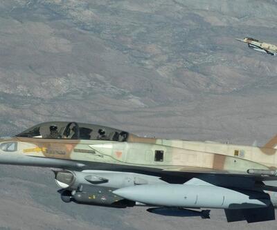 İsrail uçakları Suriye'de silah deposu vurdu