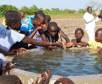 'Çocuklar Suya Kavuşsun Diye Sen de Koş'