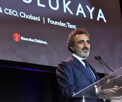 Hamdi Ulukaya'ya yardımseverlik ödülü