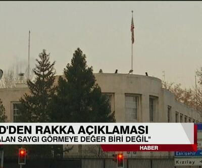 Son dakika: ABD Büyükelçiliği'nden Rakka'daki Öcalan posterleriyle ilgili açıklama