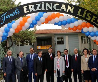 Aydın Doğan Vakfı'ından Erzincan Lisesi'ne yeni tesis