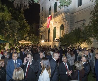 Türkiye Cumhuriyet'inin kuruluşunun 94. yılı Roma'da törenle kutlandı