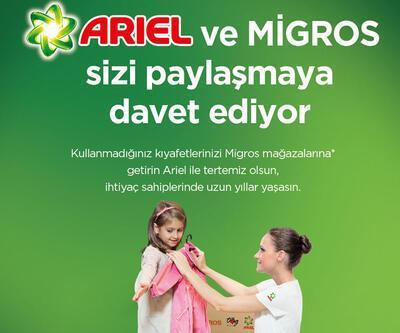 Ariel ve Migros çocukların yüzünü güldürecek