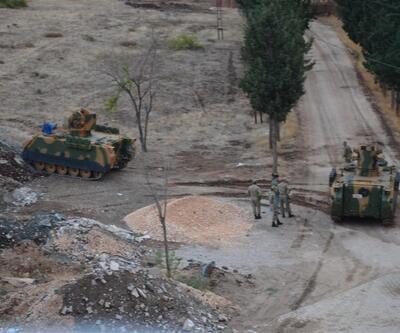Hatay'da kışlaya askeri araç ve personel takviyesi