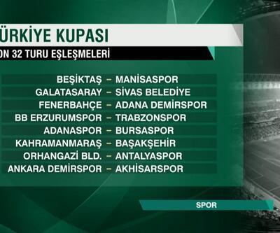 Son dakika Ziraat Türkiye Kupası'nda 5. tur kuraları çekildi