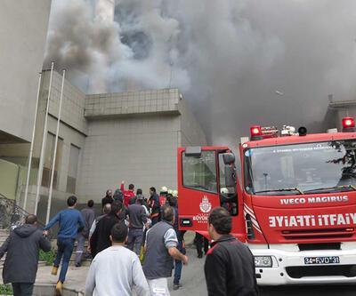 Maltepe'deki yangın hasara yol açtı