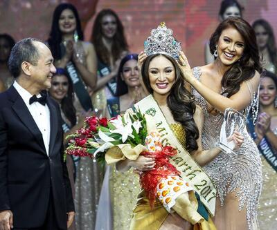Miss Earth 2017 güzeli tacını taktı