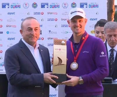 Antalya'da golf heyecanı sona erdi