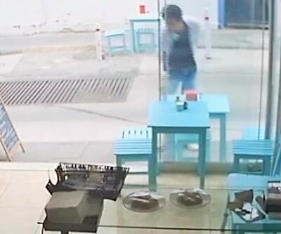 Hırsızın görüntülerini sosyal medyada yayınladı, 24 saat sonra yakalandı