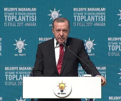 Erdoğan'dan belediye başkanlarına uyarı