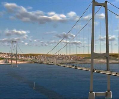 Çanakkale Köprüsü'nde çalışmalar hızlandı