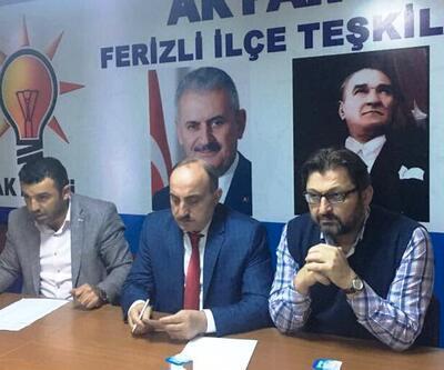 Genel Merkez'den gösterilen aday AK Parti teşkilatında istifa getirdi