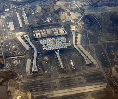 İşte 3. Havalimanının son hali: Uçaktan görüntülendi
