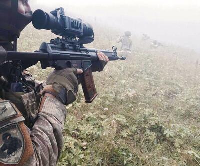 Amanoslarda çatışma: 1 PKK'lı ölü ele geçirildi