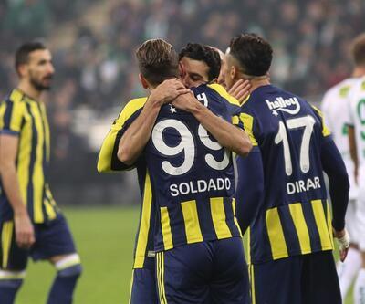 Bursaspor 0-1 Fenerbahçe / Maç Özeti