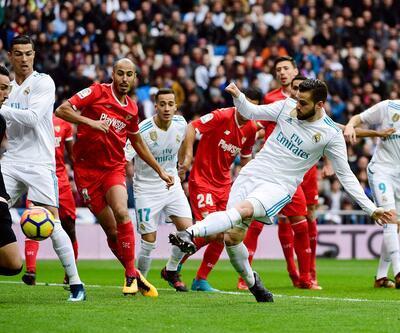 Real Madrid Sevilla'ya 5 attı