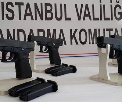 Sosyal medya üzerinden 'hayalet silah' Glock'u satıyorlardı