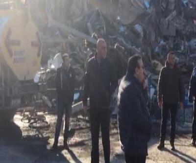 Son dakika... Bakırköy'de üstüne beton parça düşen belediye işçisi öldü