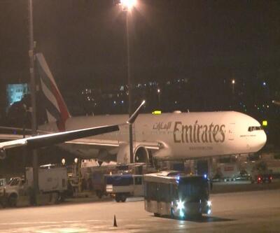 Emirates Havayolları'nın uçağı İstanbul'a acil iniş yaptı