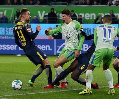 Wolfsburg - Leipzig: 1-1 (Maç Özeti)