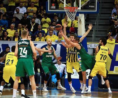 Fenerbahçe'nin serisini Zalgiris Kaunas bitirdi