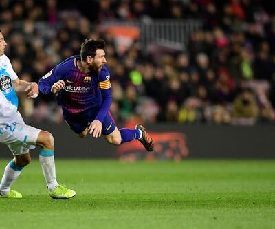 Messi ile direk arasındaki maçı direk kazandı!