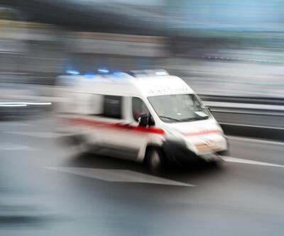 Yolcu otobüsü ile ambulans çarpıştı