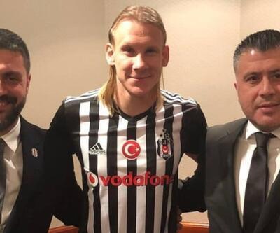Domagoj Vida Beşiktaş formasını giydi
